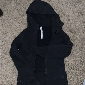 Lulu lemon black zip up sweatshirt
